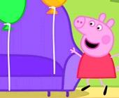 Игра Свинка Пеппа и воздушные шары фото