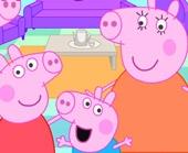 Игра Украшаем дом Свинки Пеппы фото