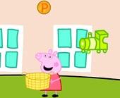 Игра Свинка Пеппа: поймай монету фото