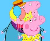 Игра Свинка Пеппа: одень всю семью фото
