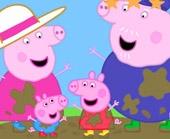 Игра Свинка Пеппа в грязи фото