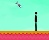 Игра Удар ракетами по Стикмену фото