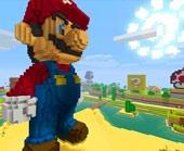Игра Марио в мире Майнкрафта фото
