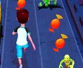 Игра Сабвей серф: Хэллоуин фото