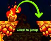 Игра Геометрия Даш: огонь и вода фото