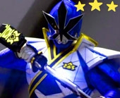 Игра Могучие Рейнджеры: синий Самурай фото