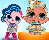Игра Куклы Лол: Мисс Панк фото