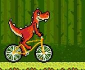 Игра Динозавр на Велосипеде фото