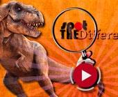 Игра Поиск Отличий с Динозаврами фото