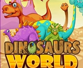 Игра Мир Динозавров: Скрытые Передметы фото