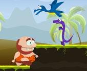 Игра Древний Человек и Динозавры фото
