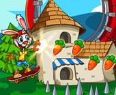 Игра Кролик на Скейте фото