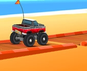 Игра Гонка Джипов на Пляже фото