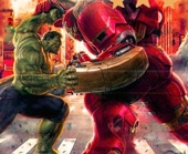 Игра Железный Человек и Халк: Пазл фото