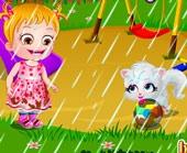 Игра Малышка Хейзел в Прачечной фото