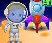 Игра Малышка Хейзел Дружба с Пришельцами фото