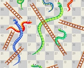 Игра Змея и Лестница фото