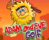 Игра Адам и Ева: Игра в Гольф фото