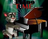 Игра Пианино Говорящего Кота Тома фото