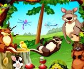 Игра Прятки с Животными в Джунглях фото