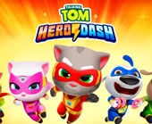 Игра Talking Tom Hero Dash фото