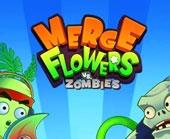 Игра Merge Flowers vs Zombies фото