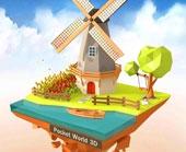 Игра Pocket World 3D фото