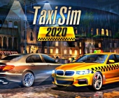 Игра Taxi Sim 2020 фото
