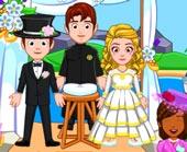 Игра My City Свадебная Вечеринка фото