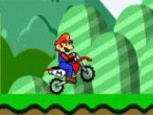 Игра Марио на байке фото