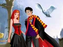 Игра Гарри Поттер с девушкой фото