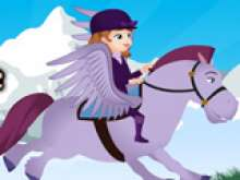 Игра Летающая лошадь фото