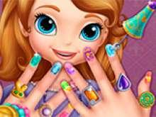 Игра Cалон для ногтей Софии фото