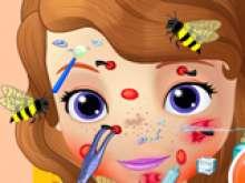 Игра Покусали пчелы фото