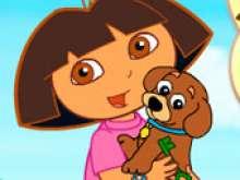 Игра Даша и ее щенок фото