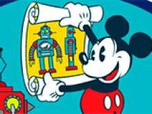 Игра Лаборатория роботов Микки фото
