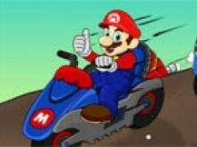 Игра Марио на мотоцикле 2 фото