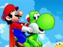 Игра Марио на драконе фото