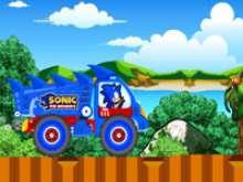 Игра Соник на супергрузовике фото