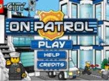 игра Лего полицейские