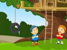 Игра Домик на дереве фото