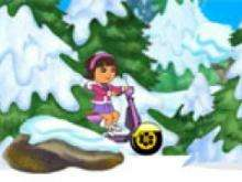 Игра Зимняя поездка Даши фото