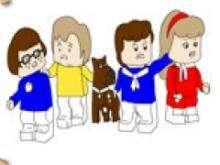 Игра Приключения Скуби Ду в лего сити фото