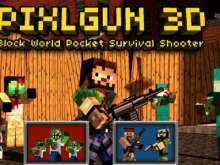 Игра 2021 Pixel gun фото