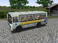 Игра Автобус Паз фото
