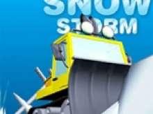 Игра Чистить Снег на Тракторе фото