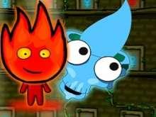 Игра Огонь и Вода в Храме Ужасов фото