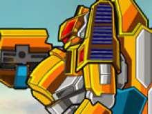 Игра Трансформеры - роботы динозавры фото