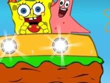 Игра Спанч Боб и Патрик фото