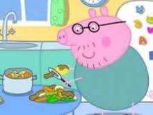 Игра Папа свин фото